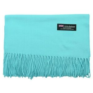 Accessories - Turquoise Cashmere Scarf New